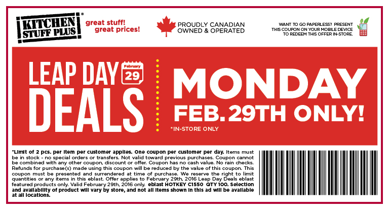 Also Keep Your Challenge With Coupons And Great Deals From Maxi Enjoy Red Hot Kitchen Stuff Plus Canadianfreestuff Savings For Canada