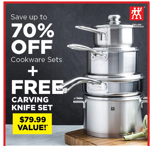 Upgrade Your Cookware & Get a FREE Gift with Purchase ...