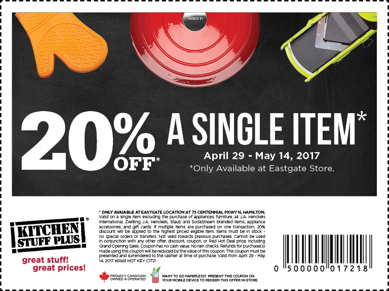 20 Off Coupon For Stoney Creek