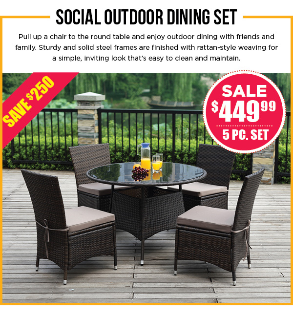 image outdoor furniture. Home; Long Weekend Sale Continues - 40% Off Outdoor Furniture Image